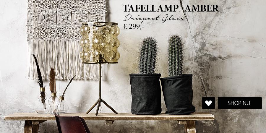 Tafellamp Amber Wants & Needs