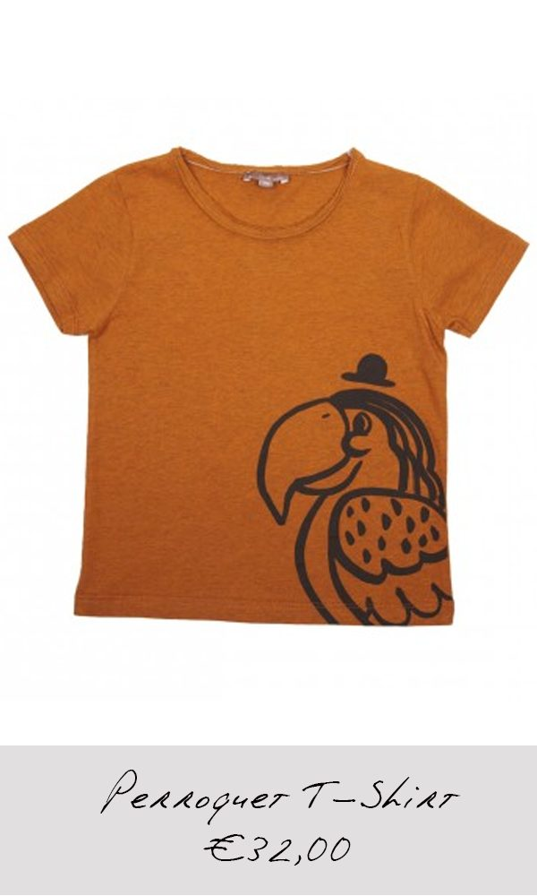 Perroquet-T-Shirt