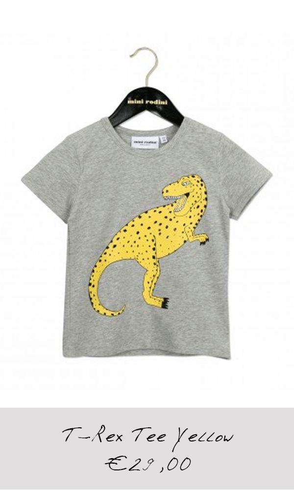 T-Rex-Tee-Yellow