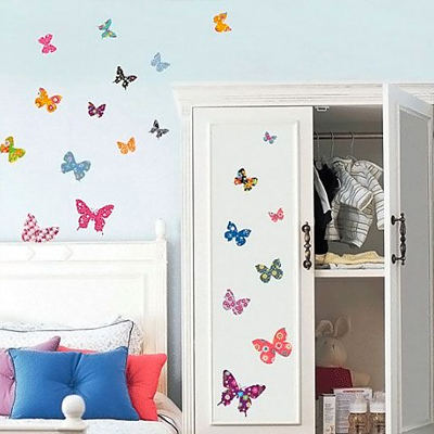 Decowall-muursticker-kinderkamer-vlinders-colourful-butterflies