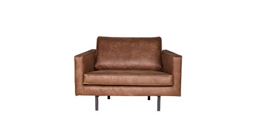 Rodeo Fauteuil Cognac BePureHome be pure rodeo korting