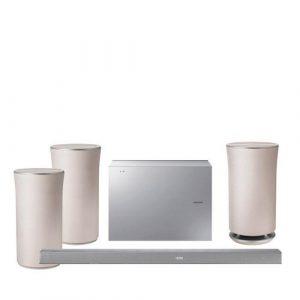Samsung 1x HW-K651 + 2x WAM1501 + WAM3501 draadloos muzieksysteem