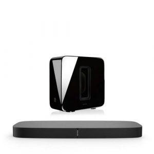 Sonos SUB + PlayBase draadloos muzieksysteem