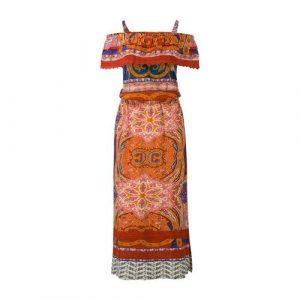Miss Etam Regulier off shoulder maxi dress