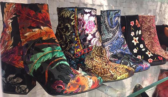 velours en fluweel schoenentrend