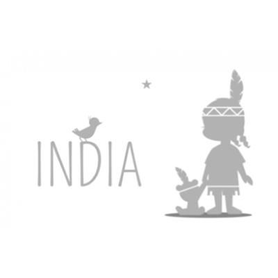 silhouet-indiaantje-grijs