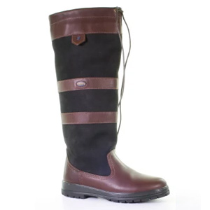 Dubarry-Galway-Black-Brown-Outdoorlaars