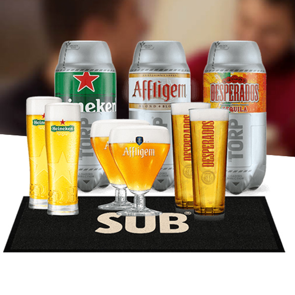 korting op The Sub van Heineken