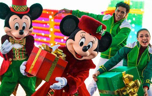 Kerst in Disneyland Paris
