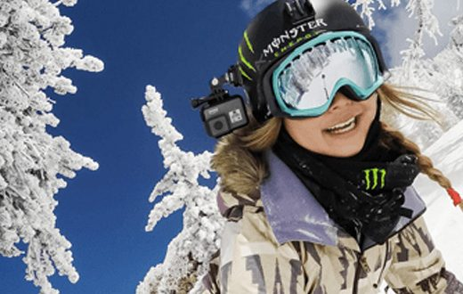 action camera skien