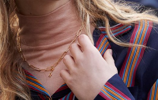 Initial Chain Jewelry