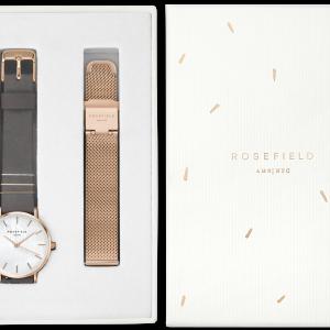 Bespaar tot 15% korting op je favoriete Rosefield horloge met een bijpassend bandje of armbandje. Want 2 cadeaus zijn beter dan 1.
