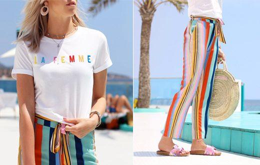 zomeroutfit met kleur
