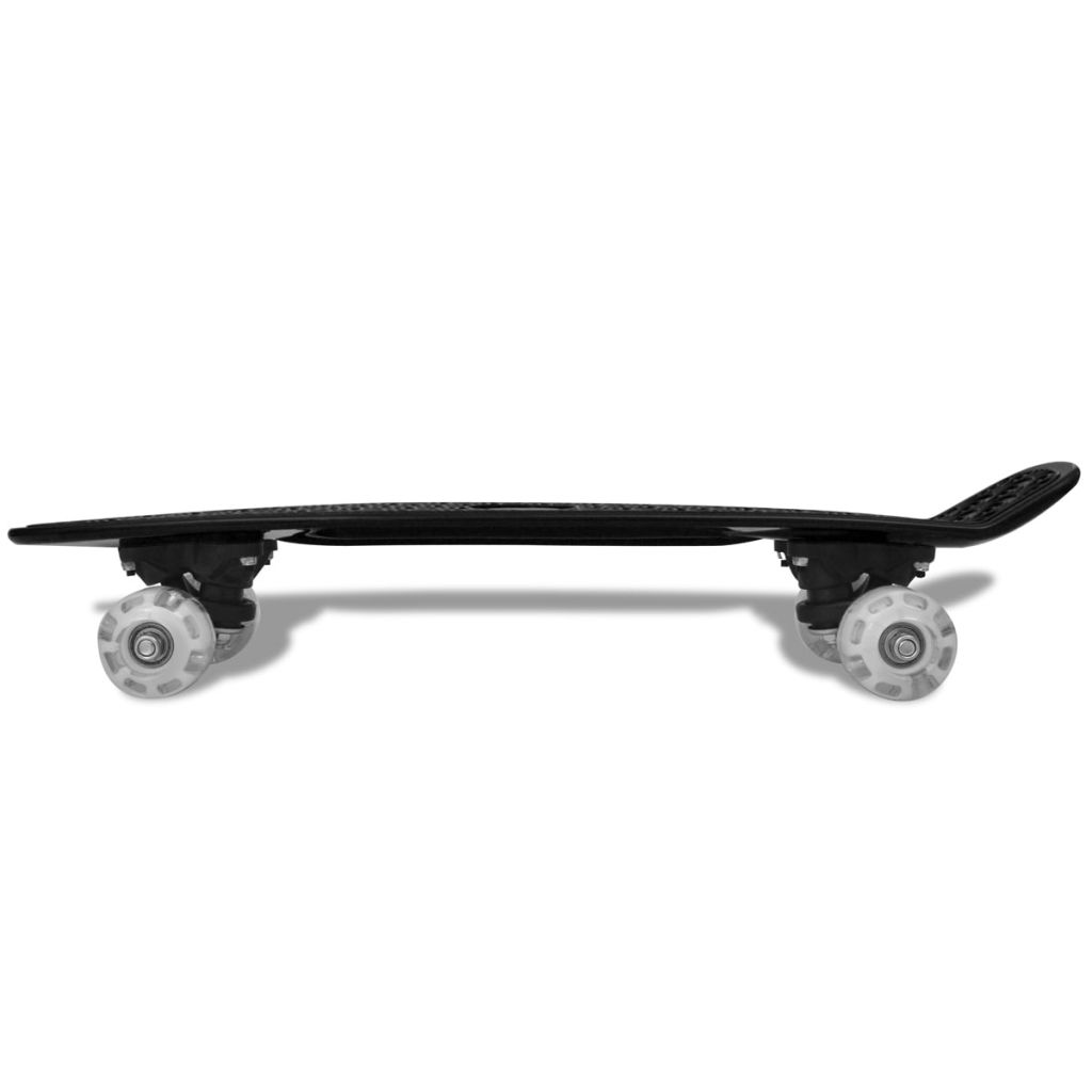 skateboard met verlichting