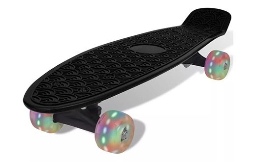 skateboard-met-lichtgevende-wielen