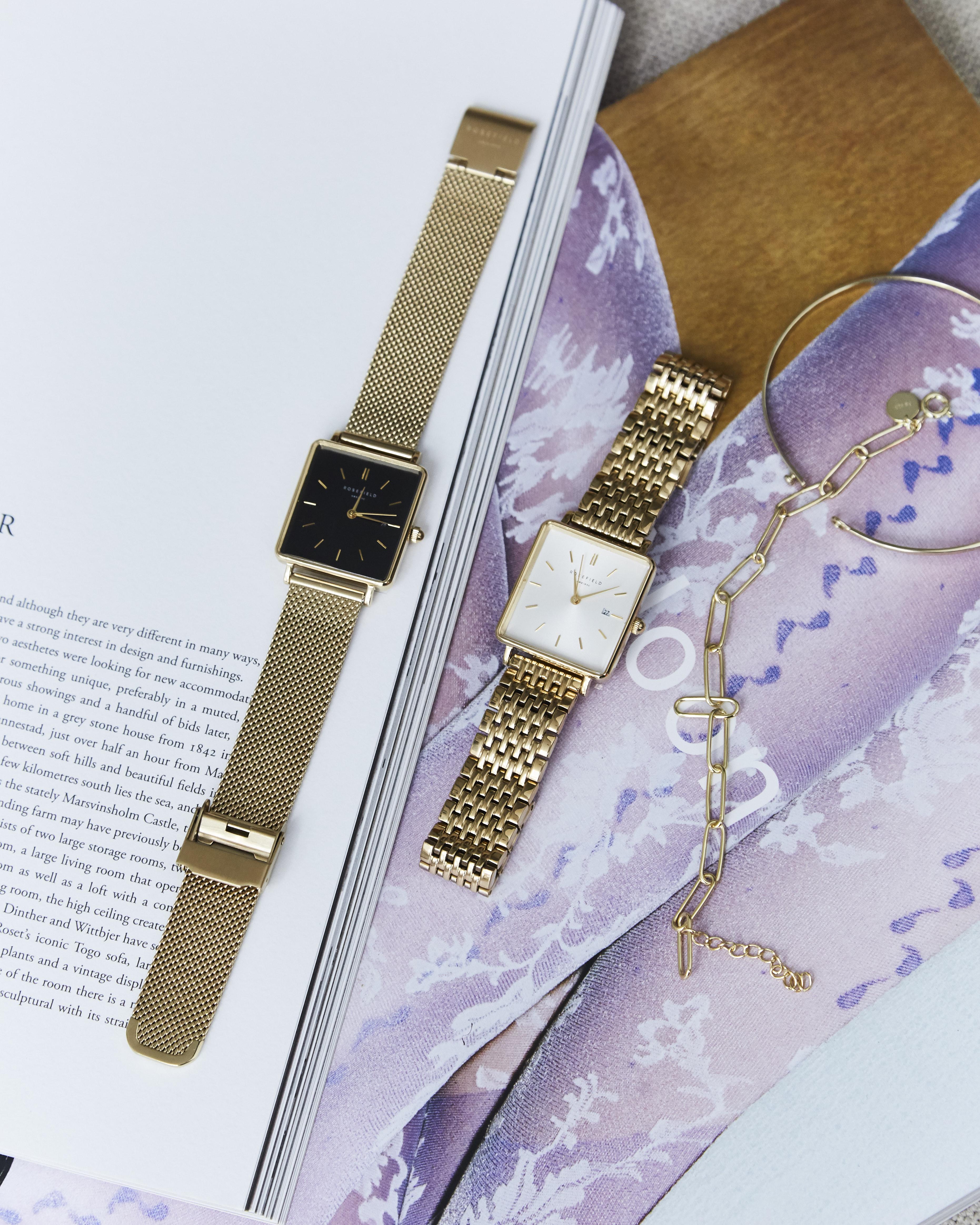 Verbazingwekkend Rosefield Horloge KQ-57