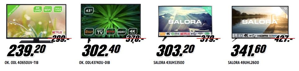 4k televisies mediamarkt