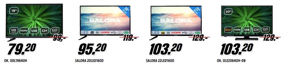 LED televisie mediamarkt