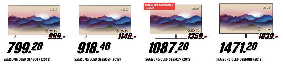 QLED televisies mediamarkt