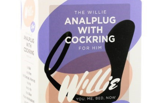 willie anaal plug cockring