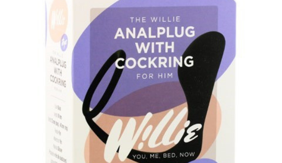willie anaal plug cockring
