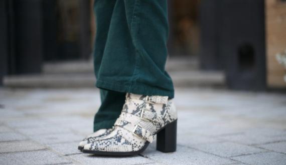 slangenprint schoenen sacha