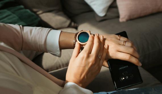 SAMSUNG Galaxy Watch 42mm Roségoud