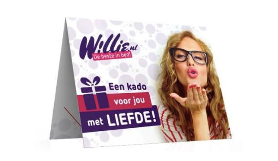 willie cadeaukaart willie.nl cadeaukaart