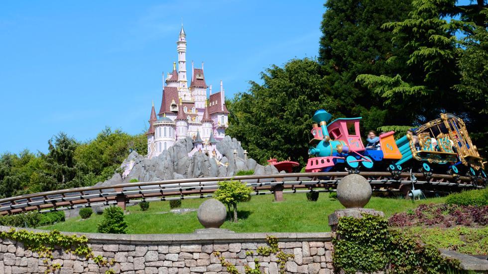disneyland parijs met een baby: Casey Jr. - le Petit Train du Cirque