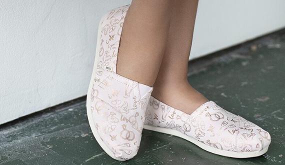 toms bruiloft schoenen
