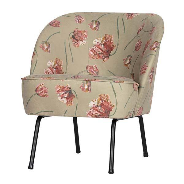 fluwelen fauteuil woononline