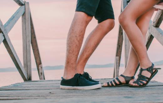 sandalen dragen