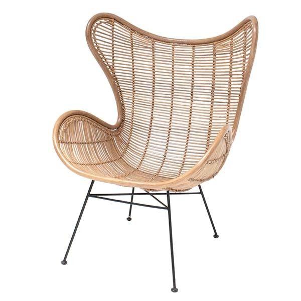 rotan egg seat woononline fauteuil