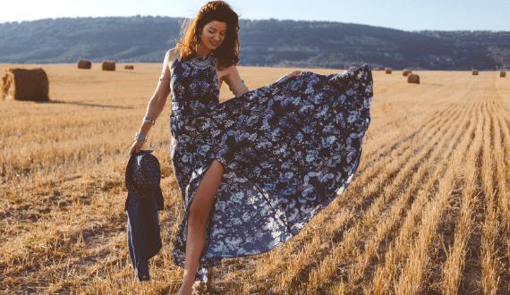 maxi jurken zomer