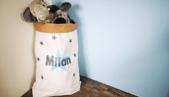 kinderkamer accessoires kinderkamer paperbag