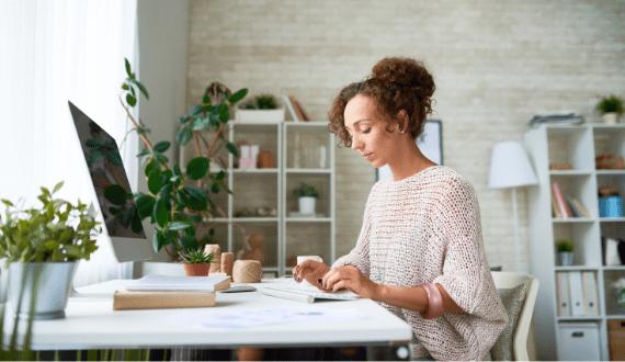 inrichten thuiswerkplek tips