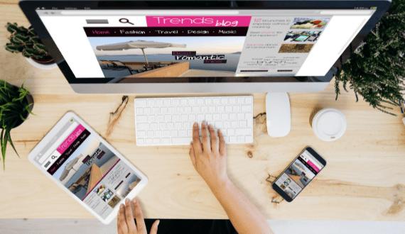 succesvolle website responsive website